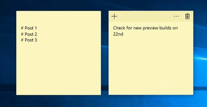 post it notes free download for windows 7