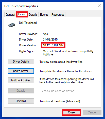 Input: Synaptics Touchpad Driver Version A15 Download and Install