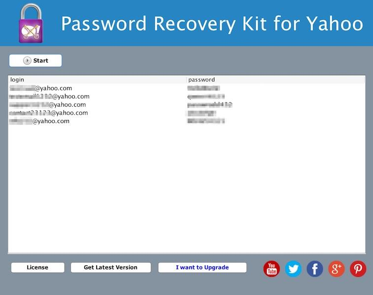 yahoo password recovery v3.3 software free download
