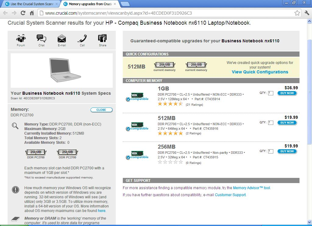 crucial system scanner tool free download