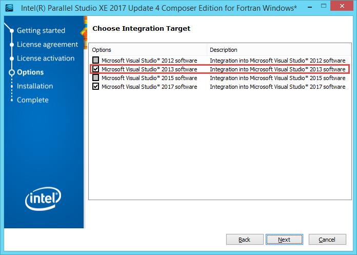 Intel Visual Fortran Compiler Professional Download and