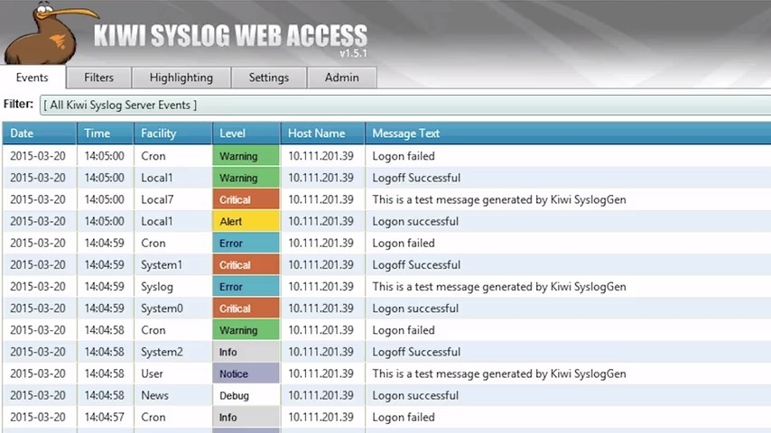 Kiwi syslog server review rated #1 for syslog software!