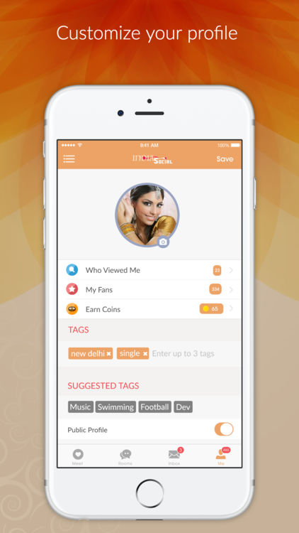India Social - Indian Dating App, Meet &