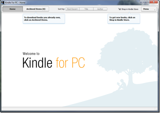 Amazon Kindle For Windows 10 Download And Install Windows