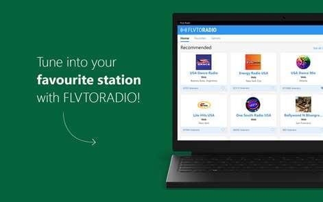 Flvto Radio - Live FM Stations and Online Radios for Windows