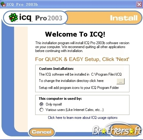 ICQ Pro 2003b Download and Install | Windows