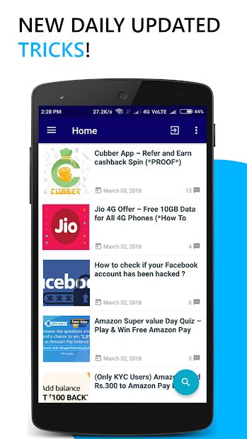 AVJ trickz - Cashback, Deals, Paytm cash offers Download and Install